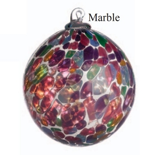 Multi Color Marble Glass Ball