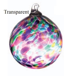 Multi Color Transparent Glass Ball