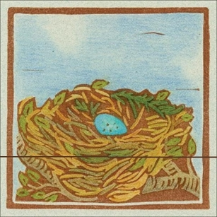 Bird Nest Matchbook