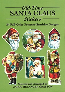 Old Time Santa Claus Stickers