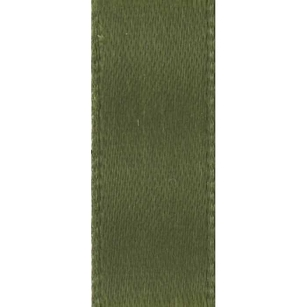 Olive Double Face Satin Ribbon