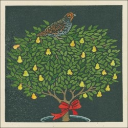 Partridge in a Pear Tree Christmas - Gift Enclosures