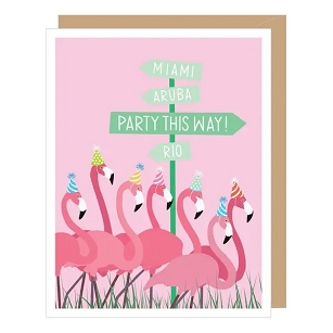 Party This Way Flamingos