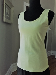 Cut Loose Convertible Boatneck Tank - Peridot