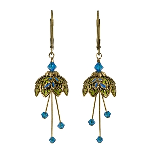 Pixie Flower Earrings - Royal