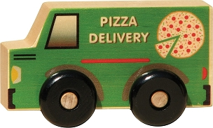 Pizza Delivery My Little Scoot