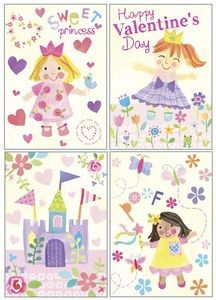 Kids Valentine Pack - Princess