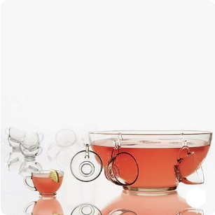 Presence Punch Bowl Set - 18 piece