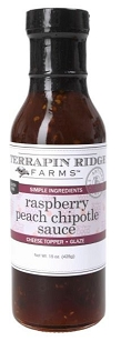 Raspberry Peach Chipotle Sauce