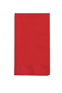 Classic Red  Dinner Paper Napkins