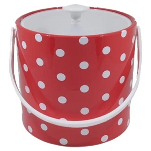 Ice Bucket - Polka Dots
