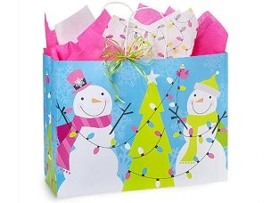 Snowman Jubilee Gift Bag - Vogue
