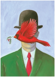 Season's Magritte-ings Boxed Cards