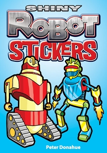 Shiny Robot Stickers
