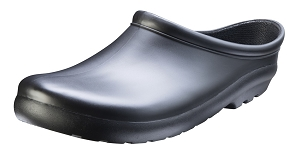 Black Men's Garden Clog
