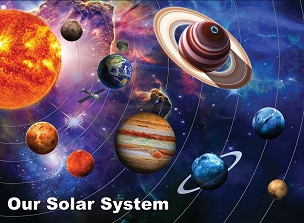 Solar System 300  Pc. Jigsaw Puzzle
