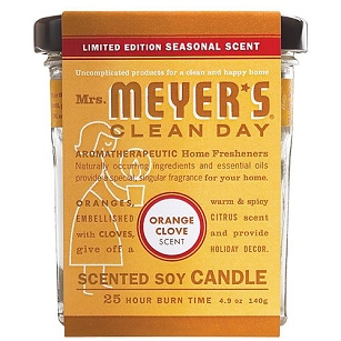 Mrs. Meyer's Clean Day Scented Soy Candle