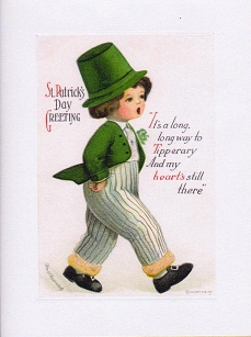 St.Patrick's Day Boy Greeting Card