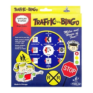 Traffic Safety Bingo Game