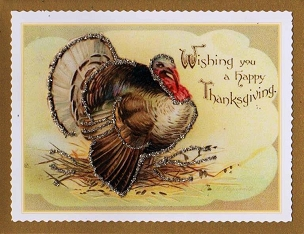Thanksgiving Card-Turkey
