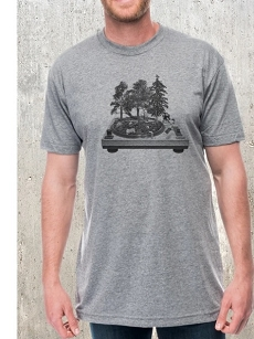 Turntable Forest Tee