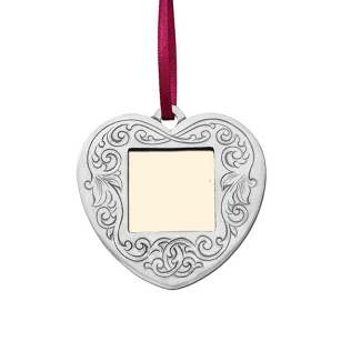 Victorian Heart Photo Frame Ornament