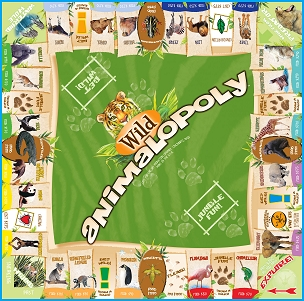 Wild Animal-Opoly