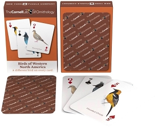 Western Birds Playing Cards
