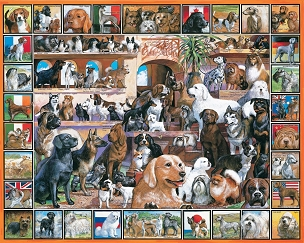 World of Dogs 1000  Pc. Jigsaw Puzzle
