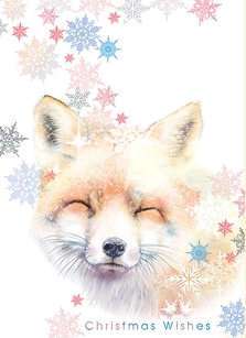 Yuletide Fox Boxed Cards
