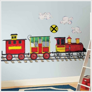 All Aboard Megapack Wall Decals
