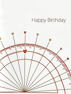 Protractor Happy Birthday