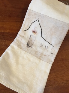 Barndominium Tea Towel