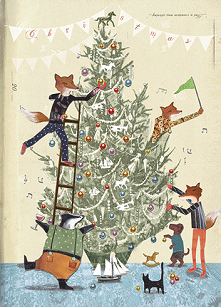 Trim The Tree Boxed Cards