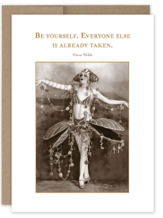 BE YOURSELF BIRTHDAY GREETING