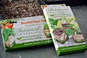 Recycled Paper Pots 3