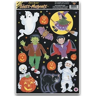 Halloween Characters Window Clings