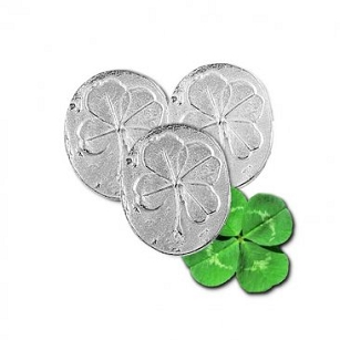 Four Leaf Clover Pocket Charms