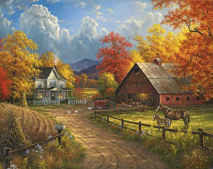 Country Blessings 1000 Pc. Jigsaw Puzzle
