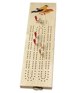 Goldfinch Cribbage Board