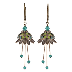 Daisy Oracle Earrings - Teal