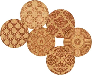 Cork Coaster Sets