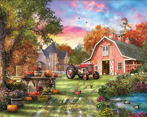 Farm Life 1000 Pc. Jigsaw Puzzle