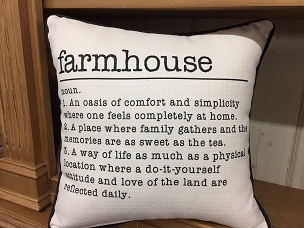 Farm House Definition Pillow