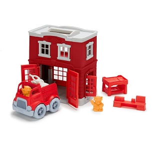 Green Toys™ Fire Station Playset
