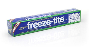 Freeze-tite® Clear High-Cling Freezer Wrap