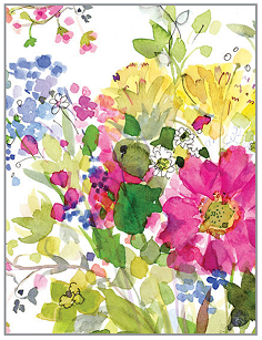 FREESIA NOTE CARDS
