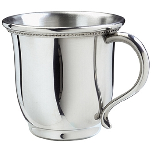 Pewter Georgia Baby Cup