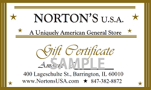 Gift Certificate-$10