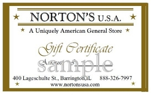 Gift Certificate-$20